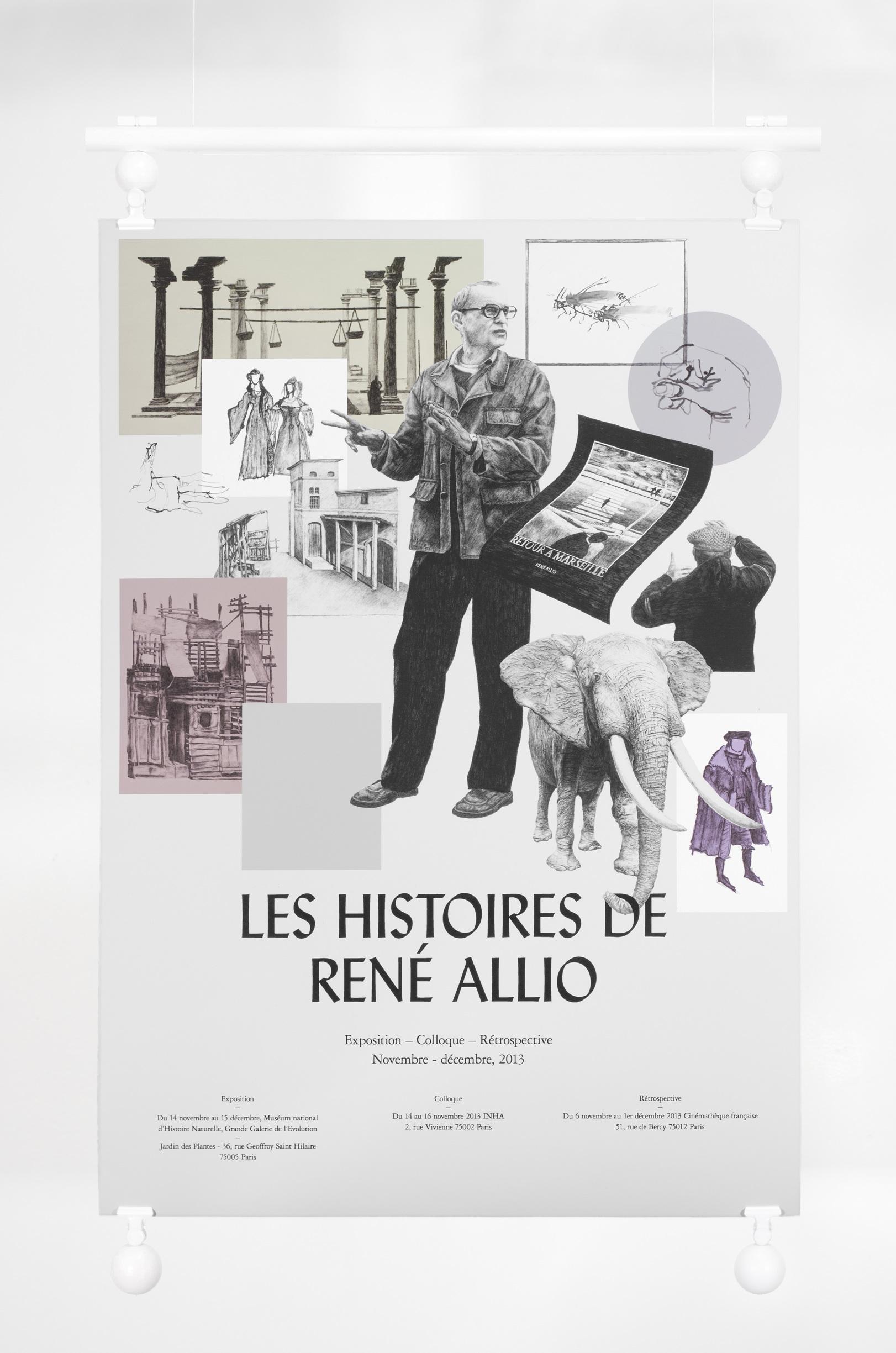 René Allio – Exhibition Poster Design - Michael Thorsby - Art ...